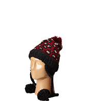 San Diego Hat Company - KNH3372 Knit Beanie Trapper with Pom Poms