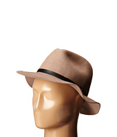 San Diego Hat Company - WFH7976 Adjustable Fedora with PU Band and Raw Brim Edge