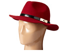 San Diego Hat Company WFH7968 Adjustable Fedora with A Gold Buckle