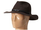 San Diego Hat Company WFH7970 Adjustable Fedora with Woven PU Band