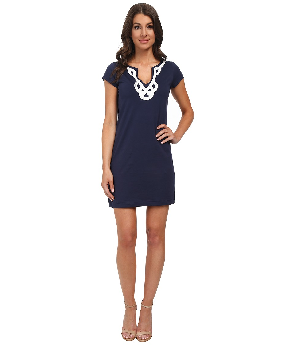 Lilly Pulitzer - Brewster Dress (True Navy) Womens Dress