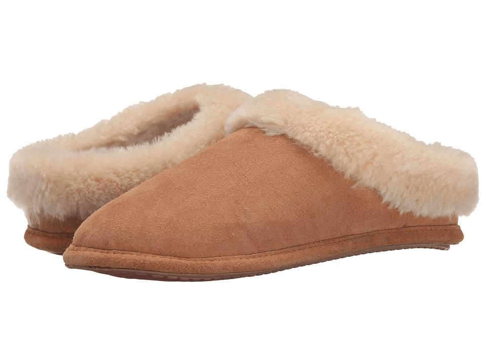 Tundra Boots Elk Tan Womens Slippers