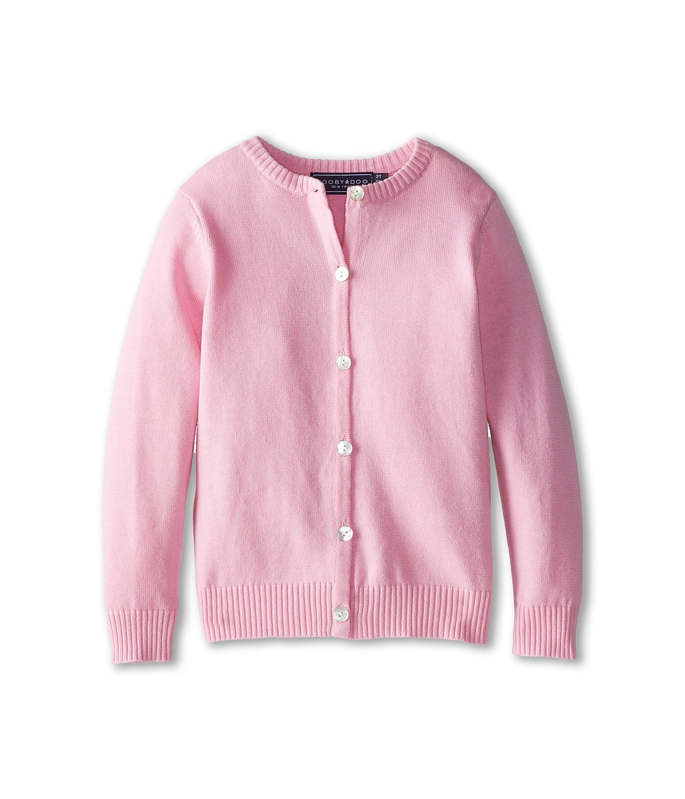 Toobydoo Cardigan Toddler/Little Kids/Big Kids Pink Girls Sweater