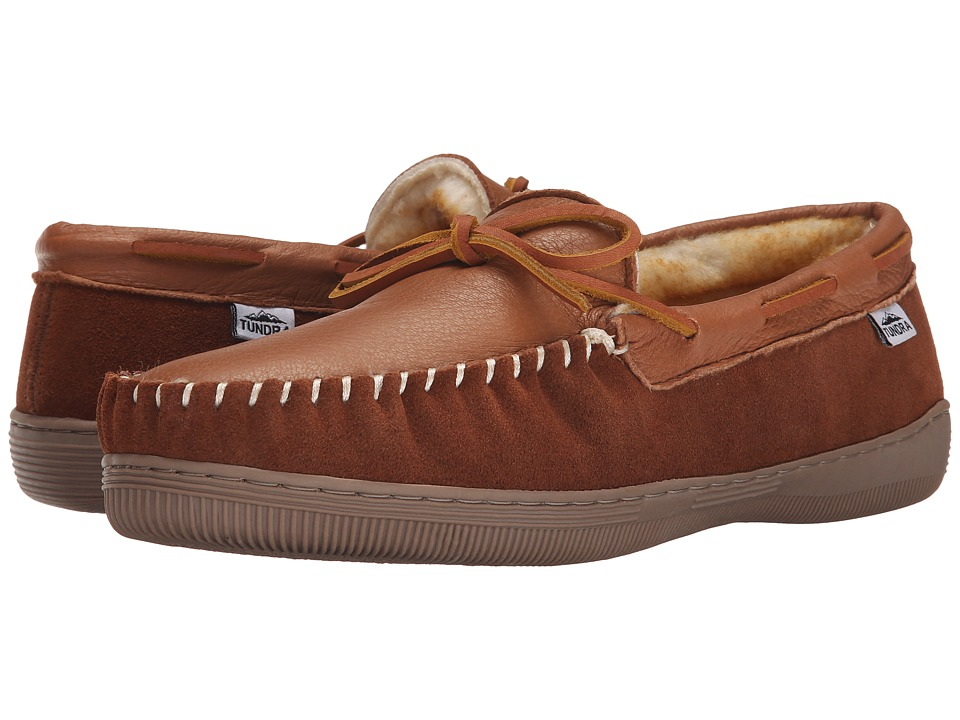 Tundra Boots Westford Deer Tan Mens Slippers