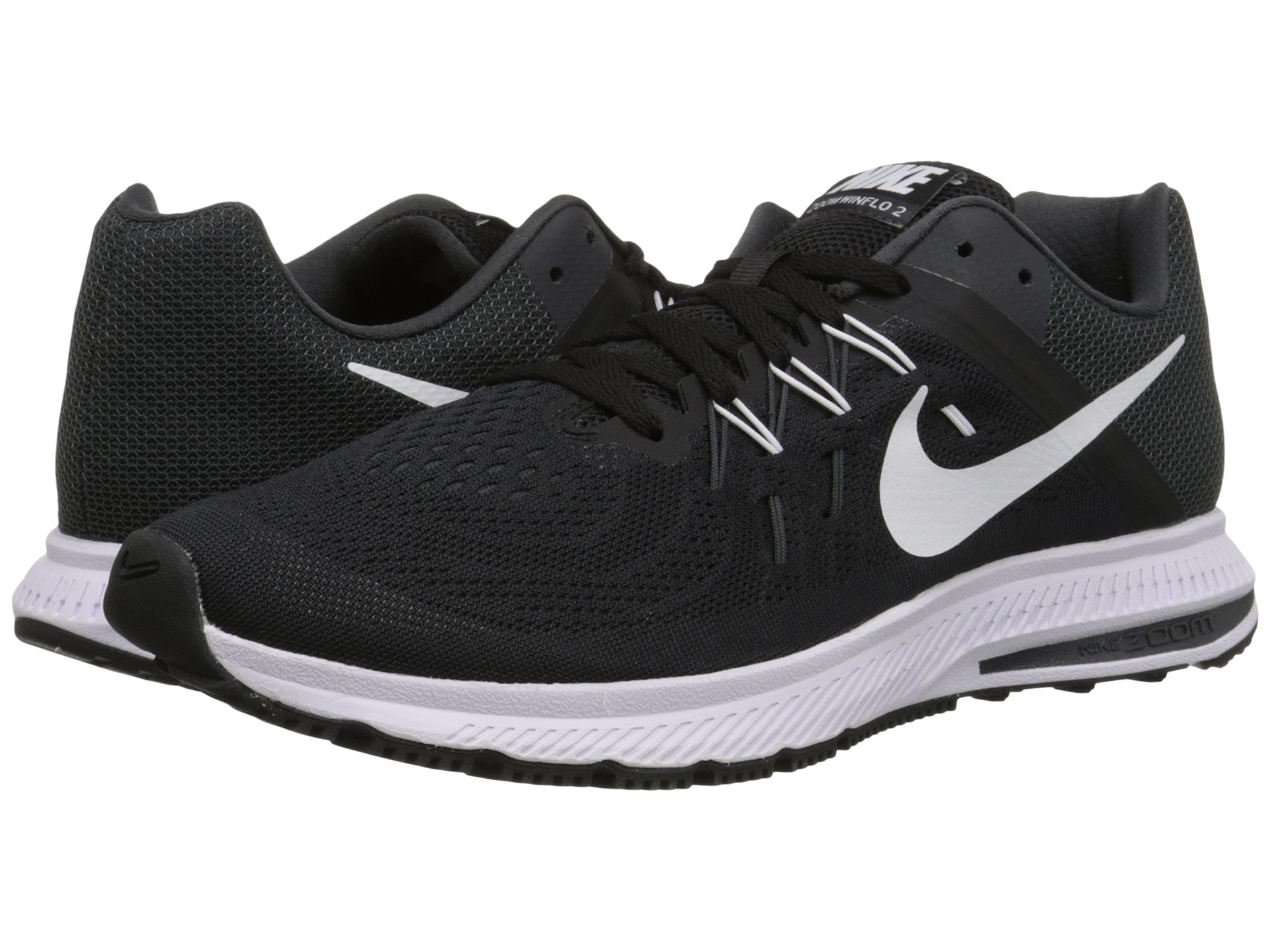 Citaten Zoon Free : Nike zoom winflo dark grey soar white black zappos