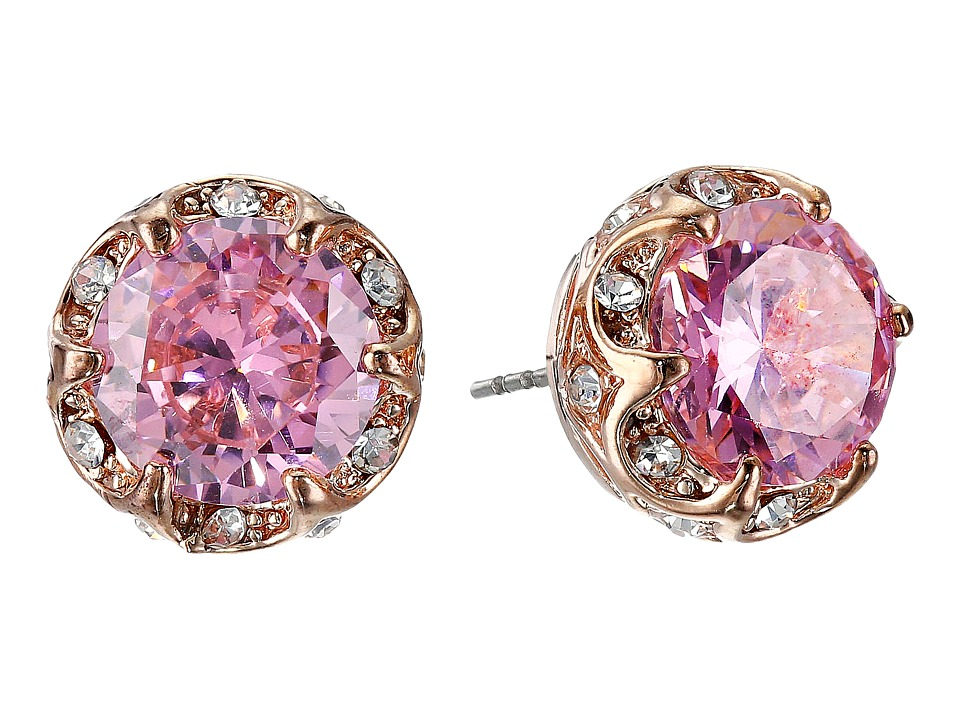 Image of Betsey Johnson - All That Glitters Earrings (Pink 3) Earring