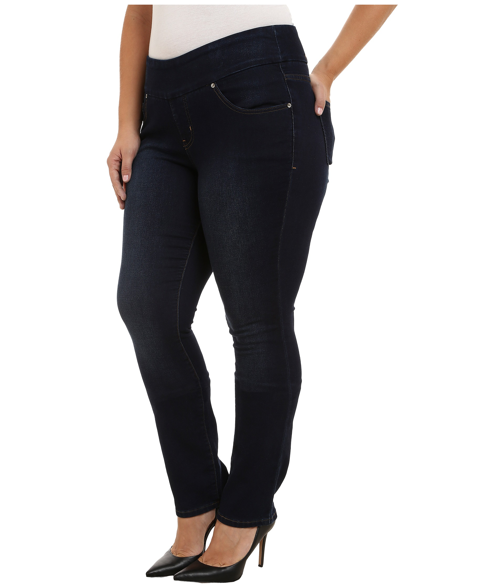 Plus Size Pull Up Jeans Eu Jean
