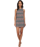 Brigitte Bailey - Quinn Border Print Shift Dress