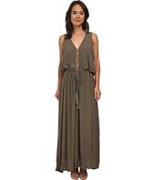 Gabriella Rocha - Woven Maxi Dress w/ Tie