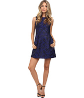 Aidan Mattox - Sleeveless Jacquard Cocktail Dress