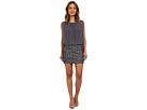 Blouson Dress w/ Novelty Sequin Skirt