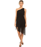 Aidan Mattox - One Shoulder Dramatic Fringe Cocktail Dress
