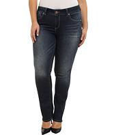 Jag Jeans Plus Size - Plus Size Sophie Mid Rise Straight Jeans in Blue Ridge