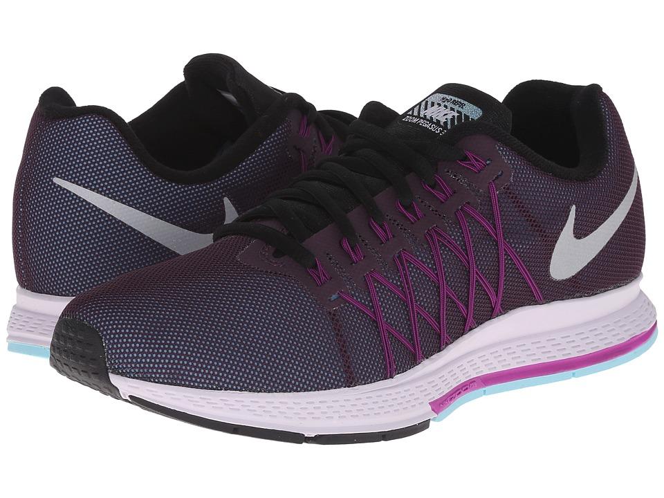 Nike - Air Zoom Pegasus 32 Flash (Noble Purple/Vivid Purple/Copa/Reflect Silver) Womens Running Shoes