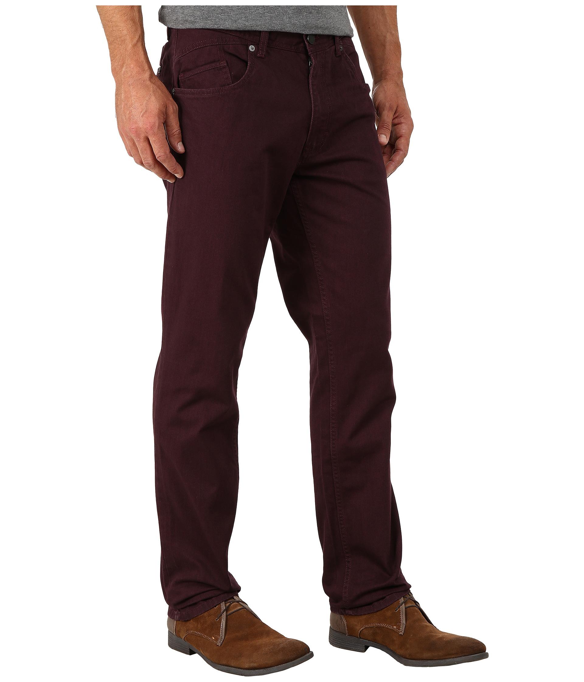 calvin klein jeans five pocket slub twill slim straight. Black Bedroom Furniture Sets. Home Design Ideas