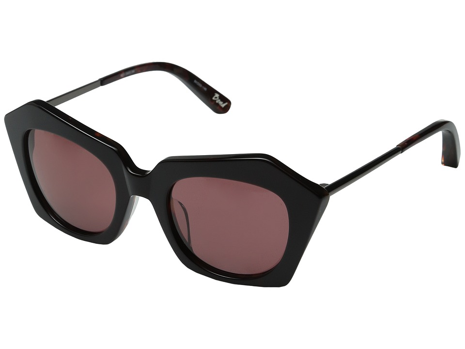 Elizabeth and James Bond Burgundy/Burgundy Mono Lens Fashion Sunglasses
