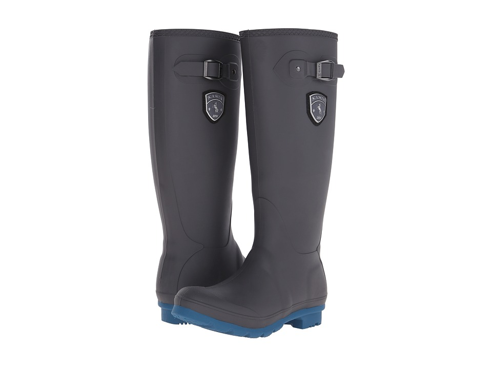Kamik Jennifer (Charcoal/Ink Blue) Women's Rain Boots
