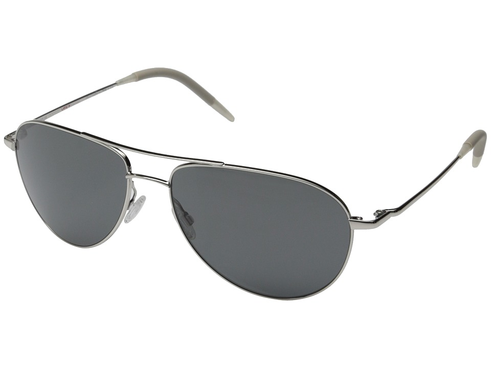 Oliver Peoples Benedict 59 Silver/Graphite Polarized Vfx Fashion Sunglasses