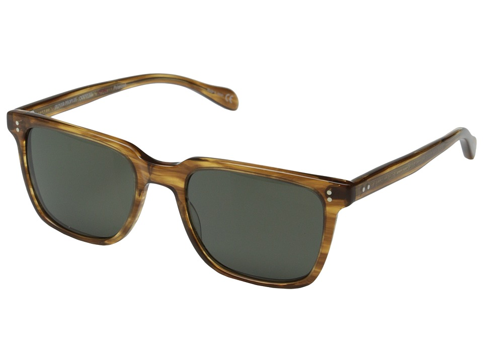 Oliver Peoples NDG Sun Cedar Tortoise/G15 Polarized Fashion Sunglasses