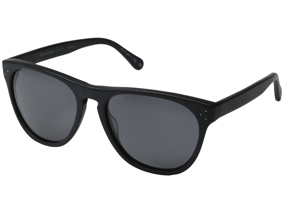 Oliver Peoples Daddy B Matte Black/Grey Polarized Fashion Sunglasses