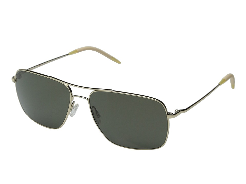 Oliver Peoples Clifton Gold/G15 Polarized Vfx Fashion Sunglasses