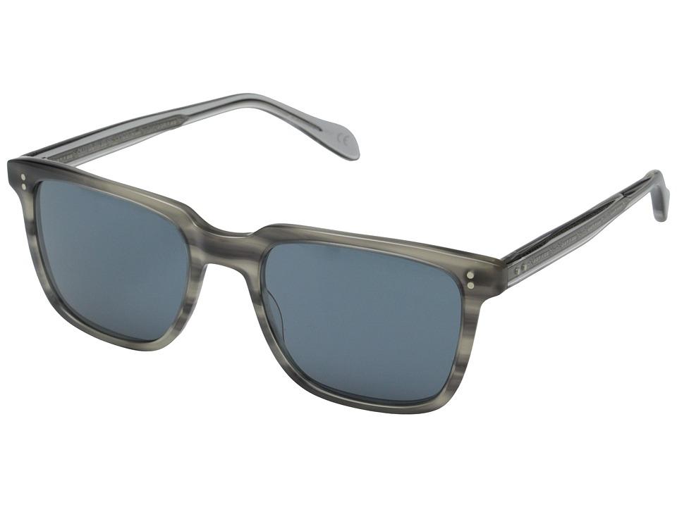 Oliver Peoples NDG Sun Grey Tortoise/Indigo Photochromic Fashion Sunglasses