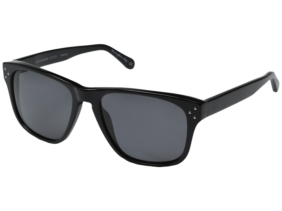 Oliver Peoples DBS Black/Grey Polarized Fashion Sunglasses