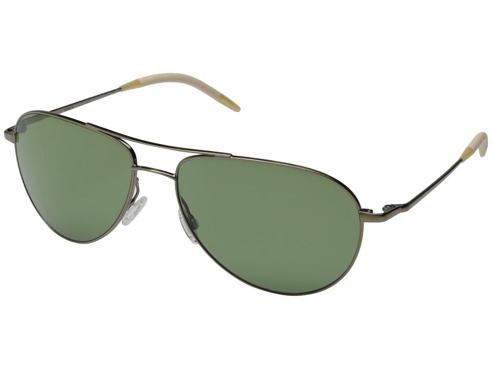 Oliver Peoples Benedict 59 Antique Gold/Jade Polarized Fashion Sunglasses