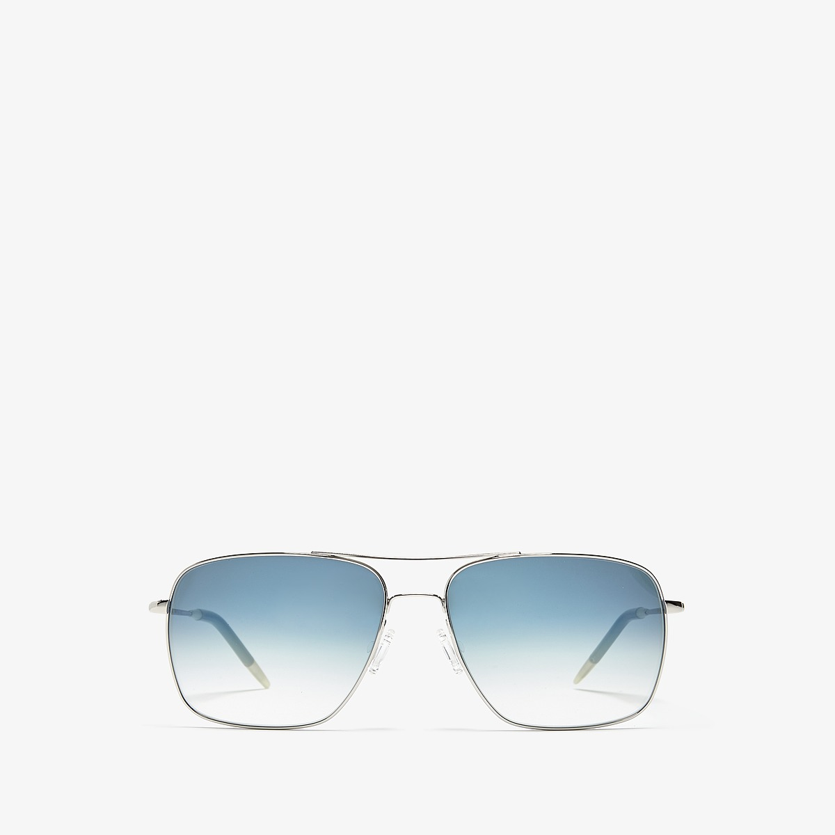 Oliver Peoples Clifton Silver/Chrome Saphire Photochromic Vfx Fashion Sunglasses