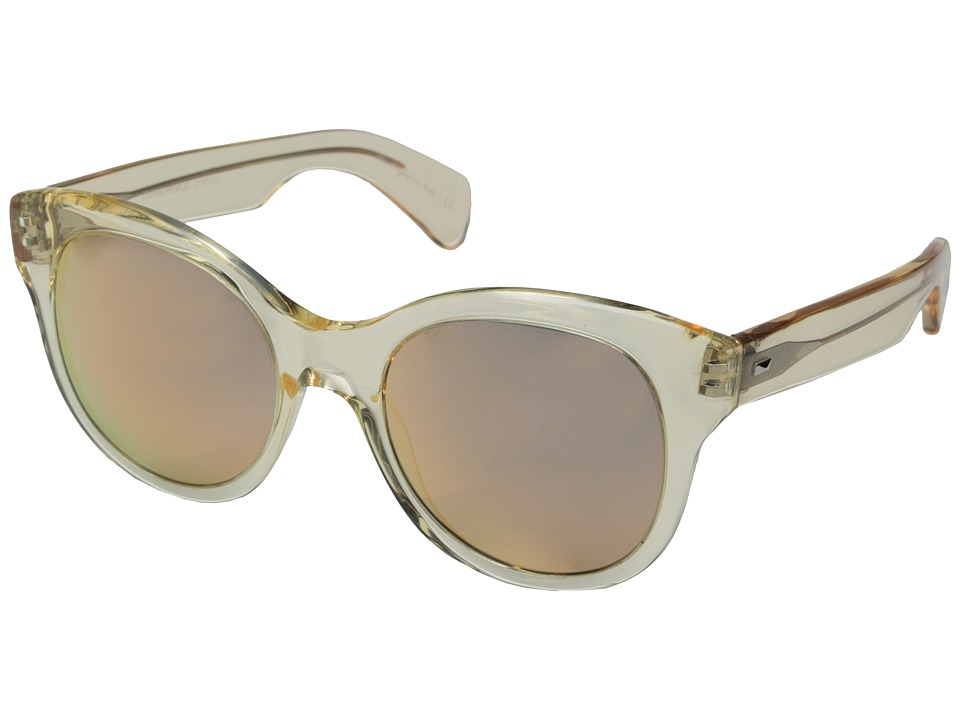 Oliver Peoples Jacey Buff/Pink Mirror Fashion Sunglasses