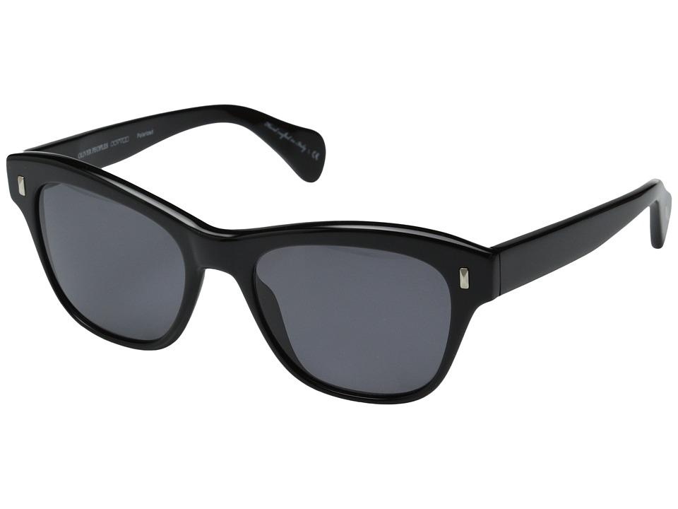 Oliver Peoples Sofee Black/Grey Polarized Fashion Sunglasses
