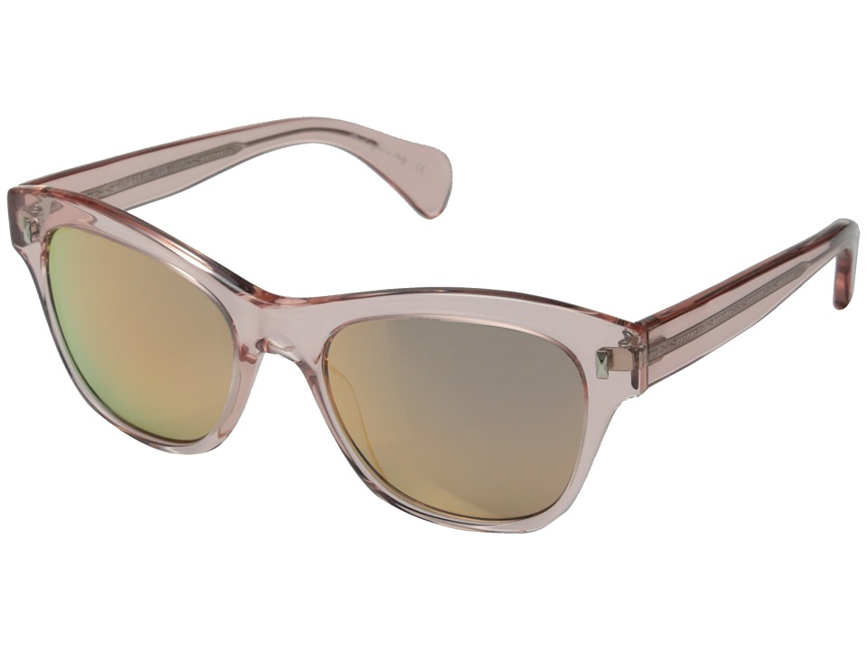 Oliver Peoples Sofee Pink Crystal/Pink Mirror Fashion Sunglasses