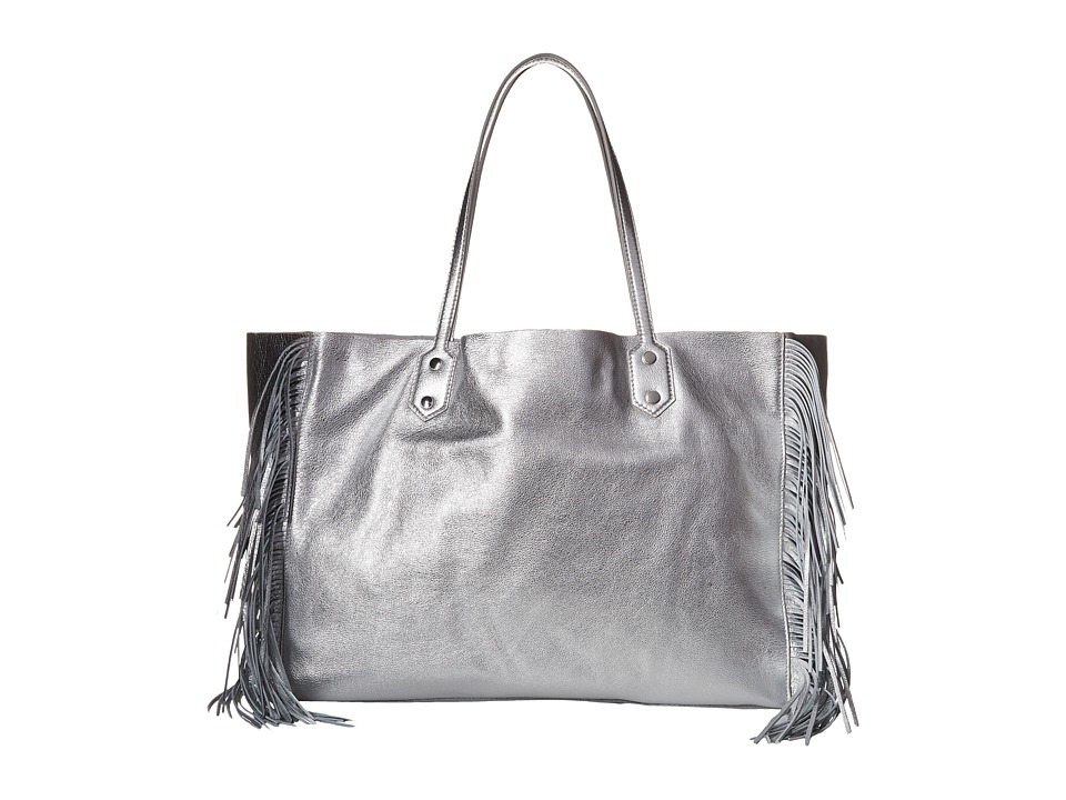 Sam Edelman Payton Tote Metallic Silver Tote Handbags