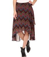 Roper - 9905 Aztec Print Georgette Skirt