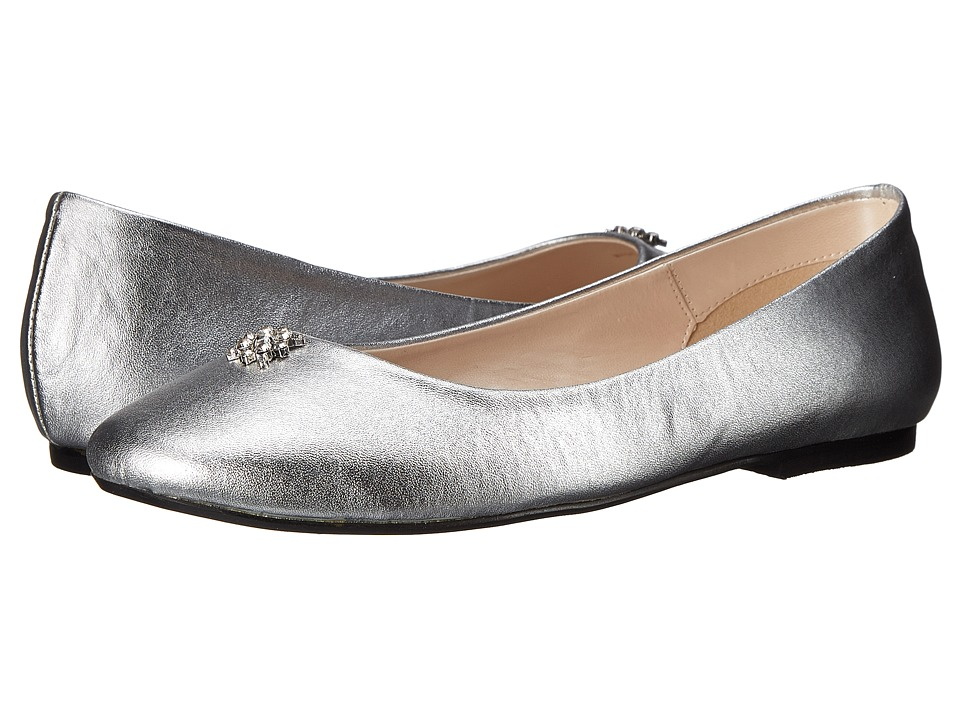 Caparros - Windfall Silver Metallic Womens Flat Shoes $75.00 AT vintagedancer.com