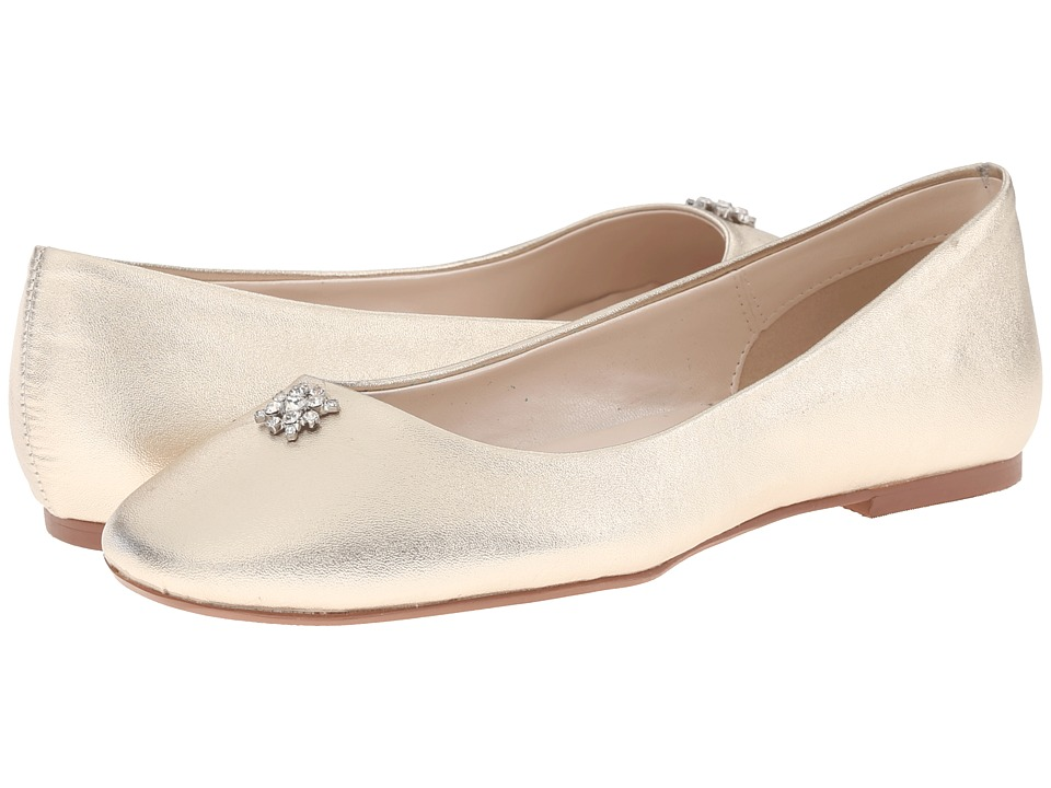 Caparros - Windfall Platino Metallic Womens Flat Shoes $75.00 AT vintagedancer.com
