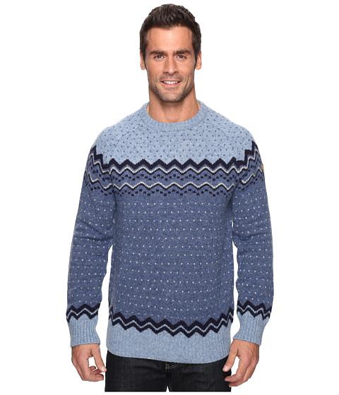 Fjällräven Övik Knit Sweater - Blueberry