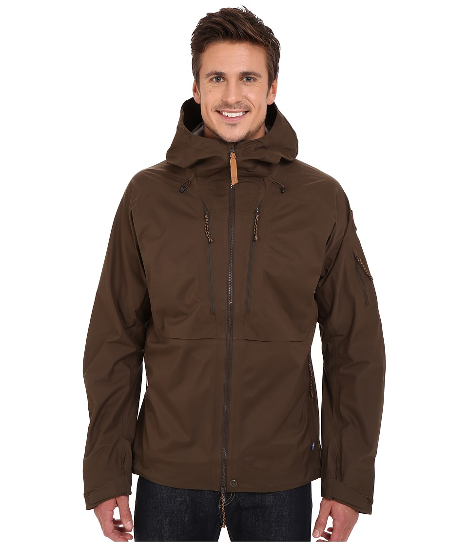 Fjallraven Keb Eco-Shell Jacket (Dark Olive) Men