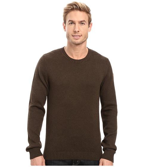 Fjällräven Ovik Crew Sweater - Dark Olive
