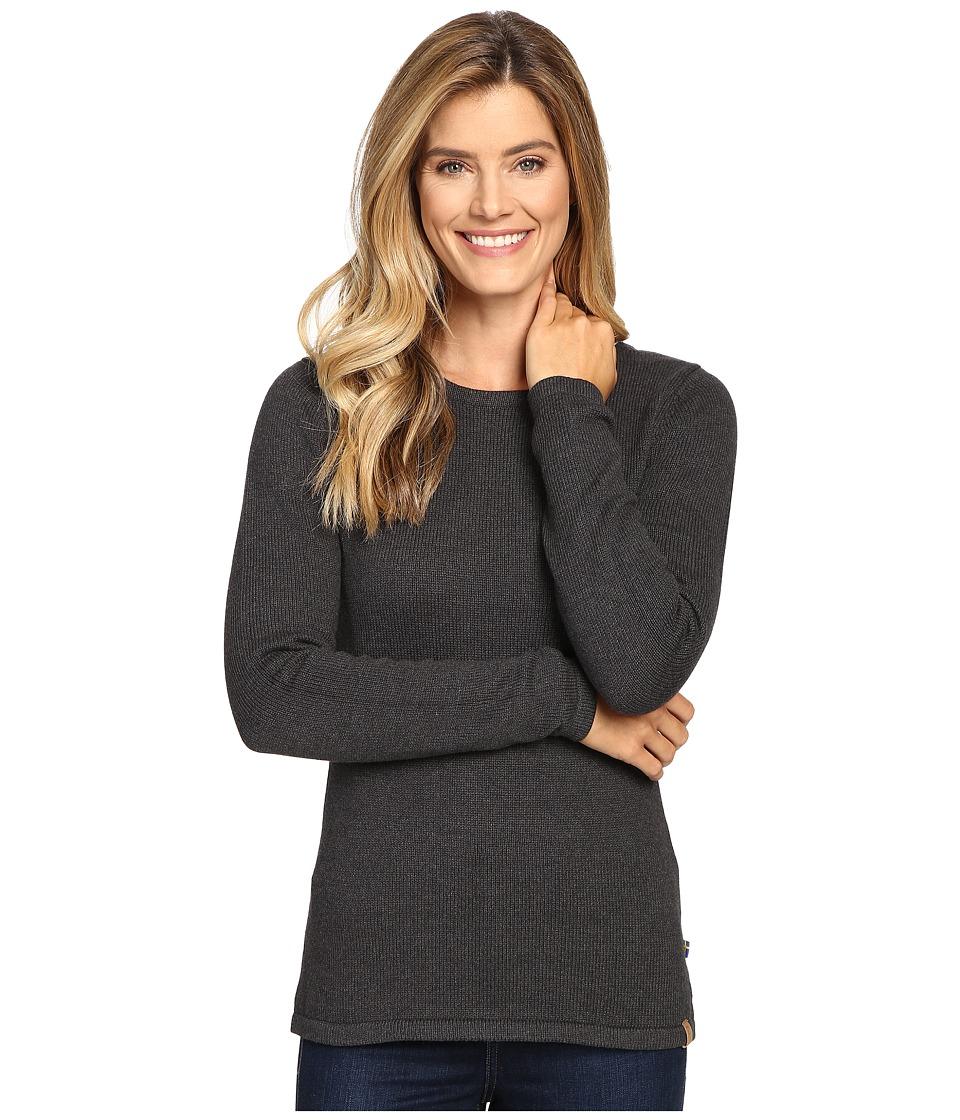 Fj llr ven Kiruna Knit Sweater (Mountain Grey) Women