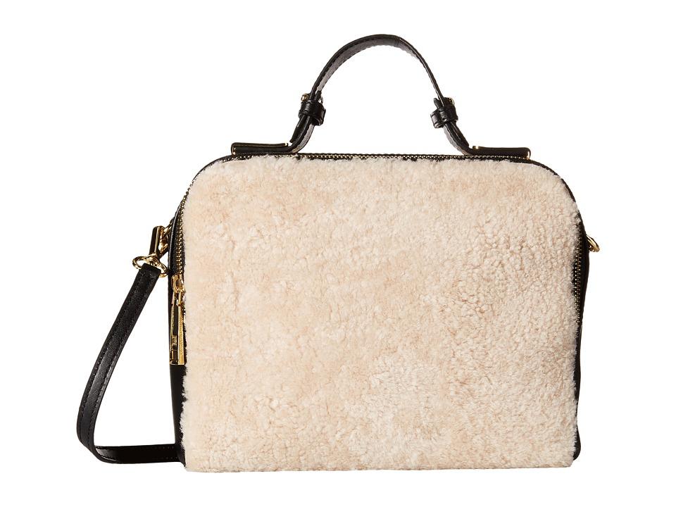Ivanka Trump - Bedminster Box Crossbody (Natural) Cross Body Handbags