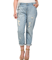 Mynt 1792 - Plus Size Distressed Boyfriend Jeans