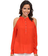 Nicole Miller - Tucker Cold Shoulder Blouse