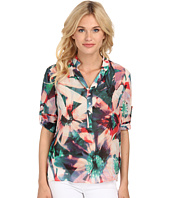Nicole Miller - Floral Tropical Blouse