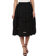 Nicole Miller - Poplin Trim Full Skirt