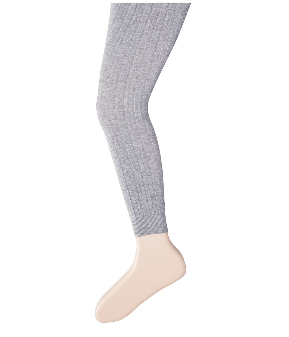Hatley Kids Cable Knit Tights Toddler/Little Kids/Big Kids Grey Girls Casual Pants