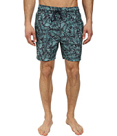 Jack Spade - Leaf Print Swim Trunks