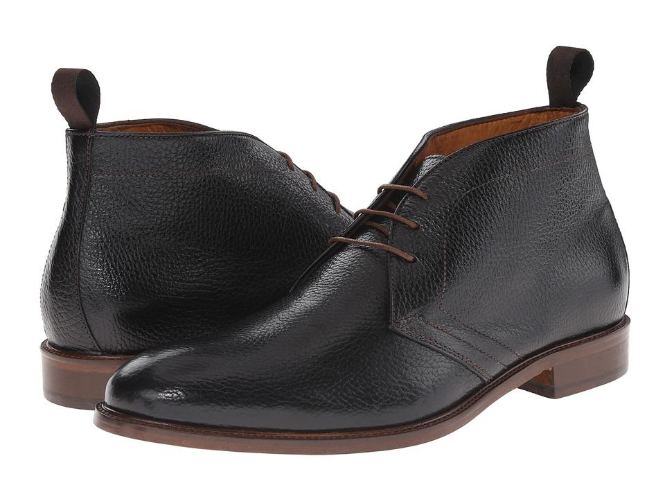 Massimo Matteo 3 Eye Chukka Boot Black Mens Boots