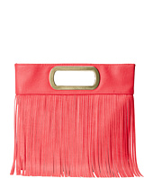 Jessica McClintock - Fringe Open Handle Clutch