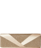 Jessica McClintock - Metallic Lurex Satin Clutch